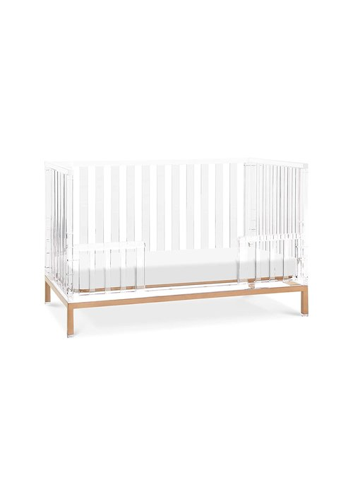 Nursery Works Nursery Works Luma Toddler Rail - Lucite (Crib Sold Seperately)
