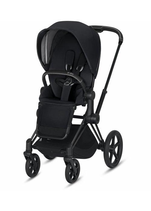Cybex 2020 Cybex Priam 3 Stroller - Matte Black/Premium Black