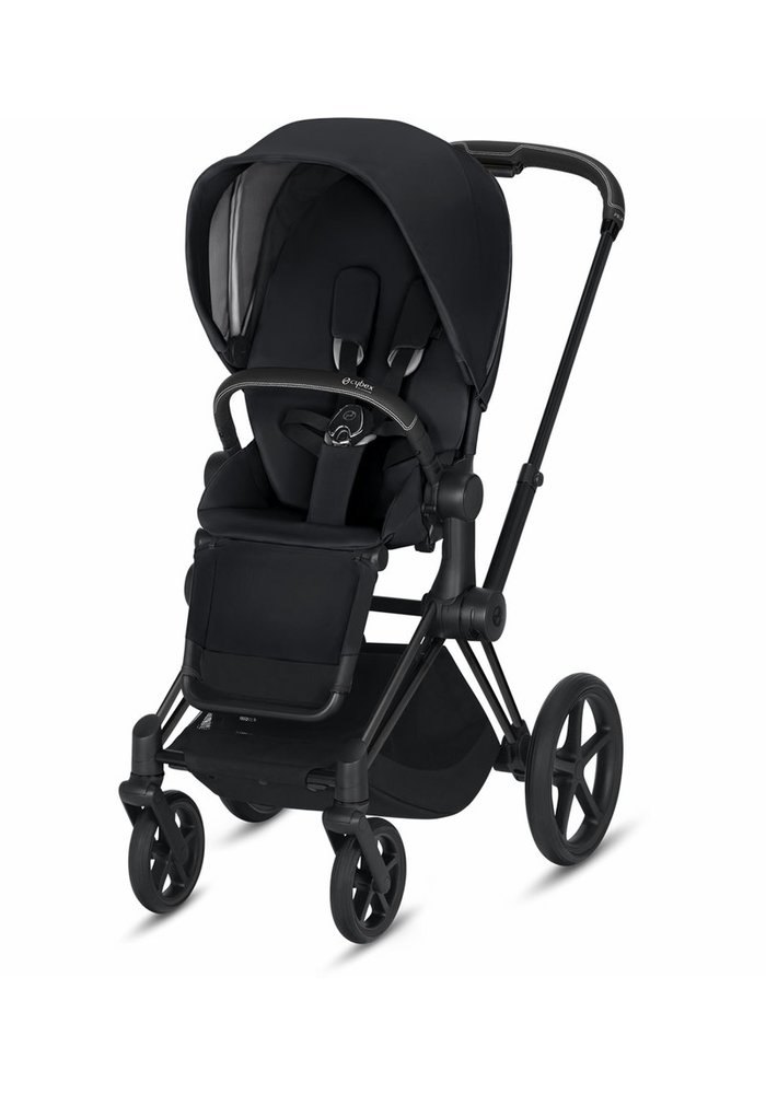 2020 Cybex Priam 3 Stroller - Matte Black/Premium Black