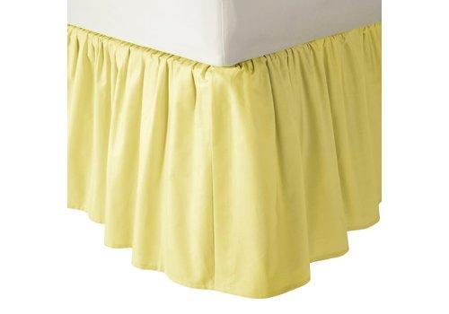 American Baby American Baby Crib Dust Ruffle Skirt In Yellow