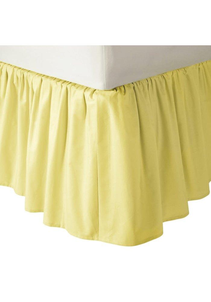 American Baby Crib Dust Ruffle Skirt In Yellow