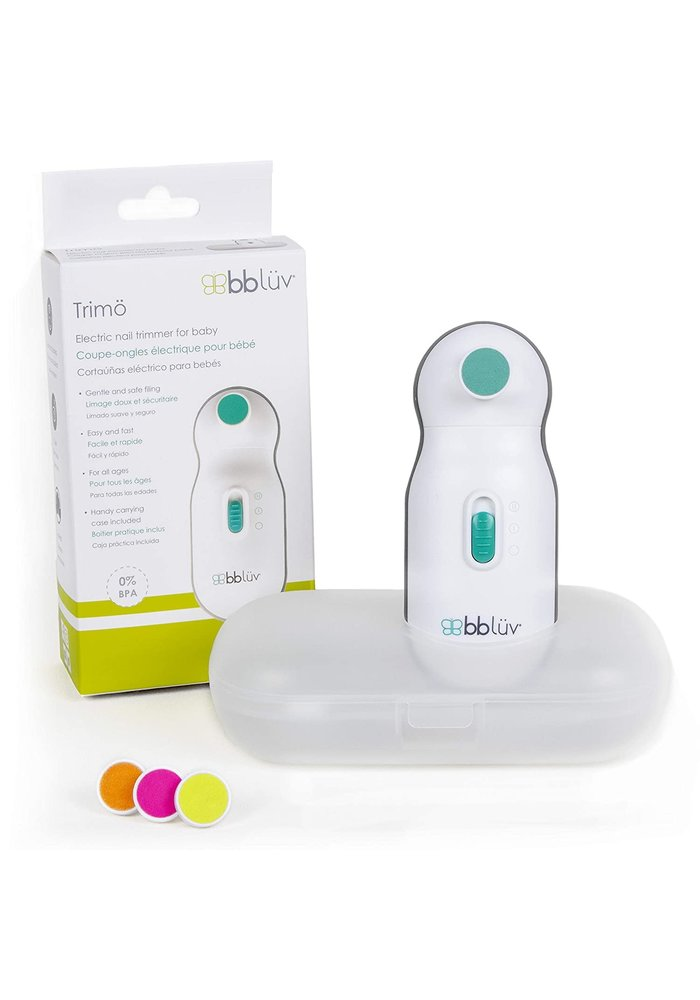 BBluv- Trimo- Electric Baby Nail Trimmer
