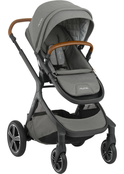 Nuna Nuna Demi Grow Stroller In Oxford With Ring Adapter , Rain Cover, Fenders