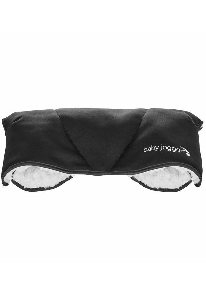 Baby Jogger Plush Stroller Handmuff In Black