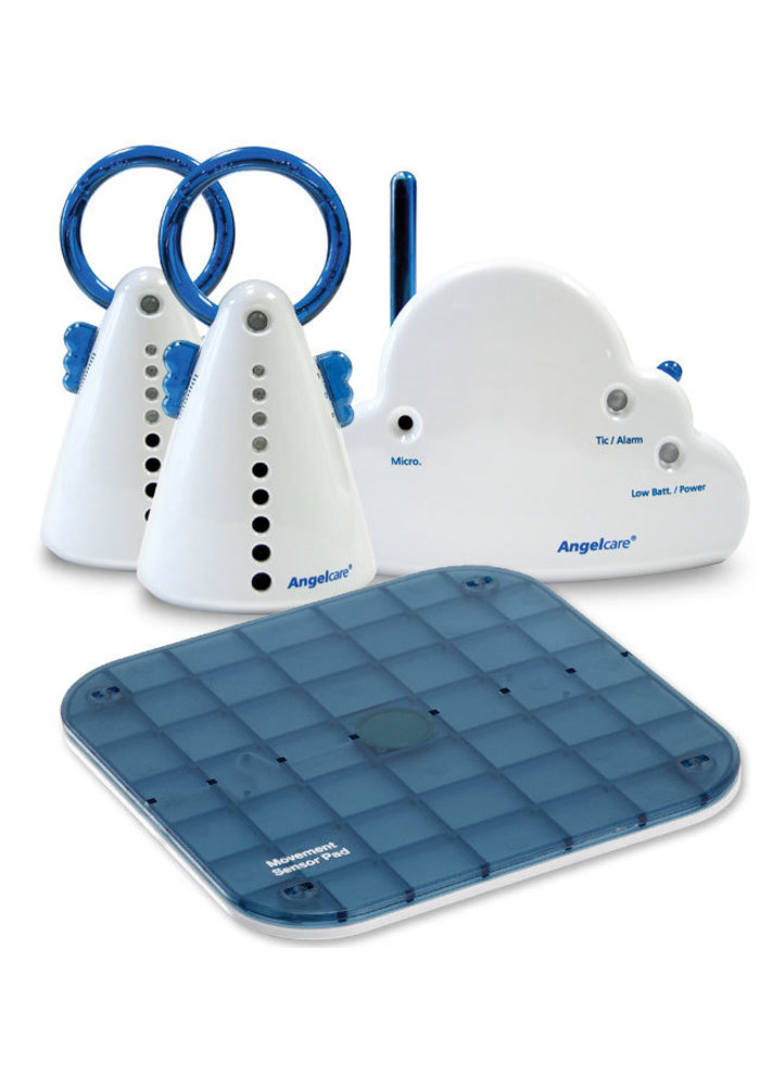 Angel Care Movement Sensor And Sound Monitor With 2 Parents Units