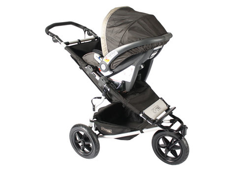 Mountain Buggy CLOSEOUT!! Mountain Buggy Urban Jungle, Terrain, +one Car Seat Adaptor For Peg Perego