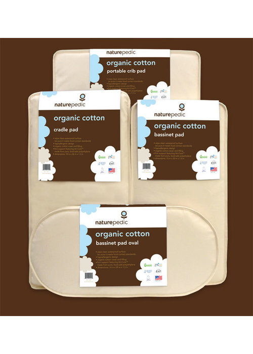 Naturepedic CLOSEOUT!! Naturepedic Organic Cotton Bassinet Square