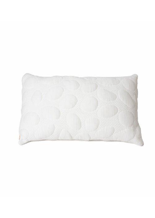 Nook Sleep Nook Sleep Pebble Junior Pillow Standard Size In Cloud