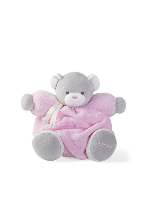 Kaloo Kaloo Plume Pink Chubby Bear Toy (Medium)