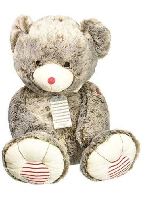 Kaloo Kaloo Rouge XXL Prestige Bear-Grey Plush