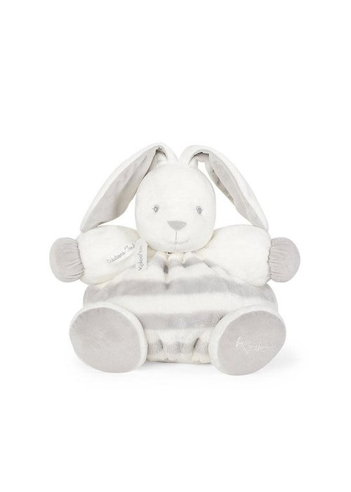 "Kaloo Kaloo Bebe Pastel Chubby Rabbit Grey and Cream"" Toy (Large)"