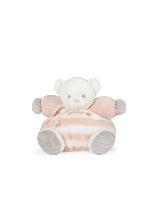 "Kaloo Kaloo Bebe Pastel Chubby Bear Peach and Cream"" Toy (Medium)"