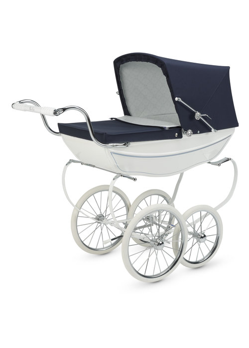 Silver Cross Silver Cross Doll Carriage Limited Edition - White/Navy