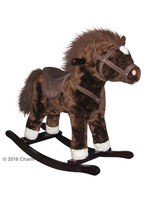 Charm Charm Brown Horse Rocker