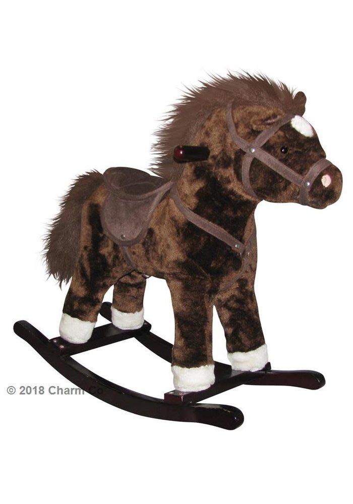 Charm Brown Horse Rocker