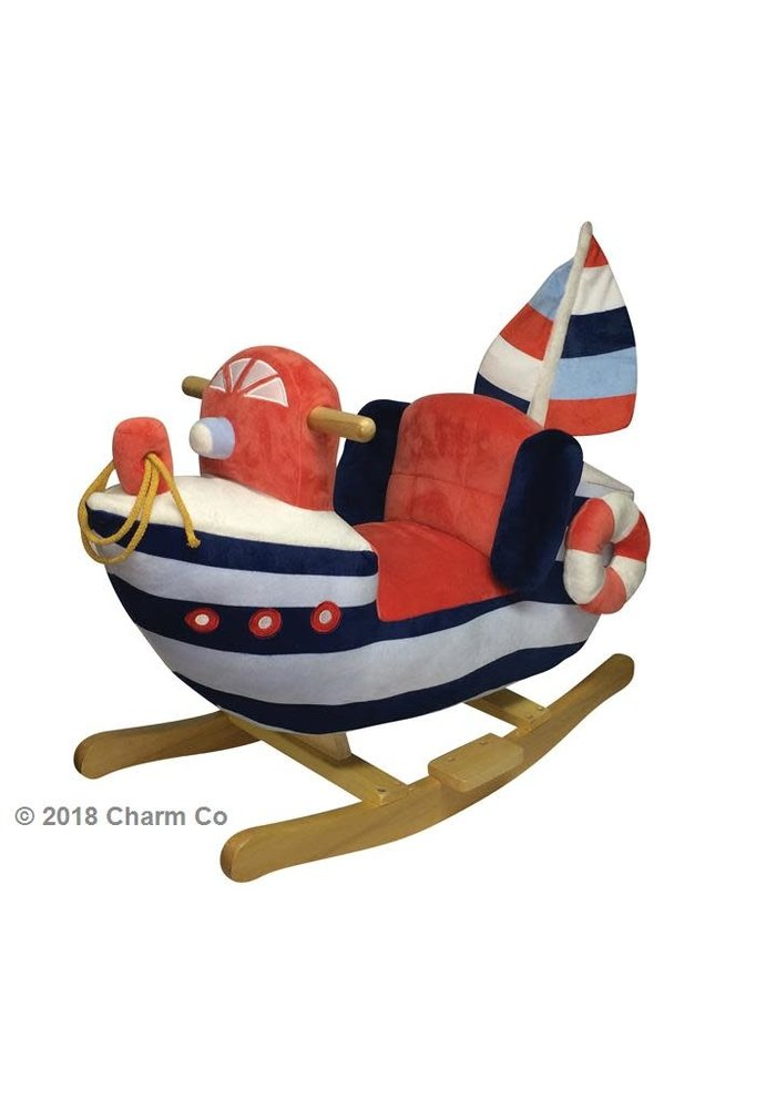 Charm Rocking Sailboat