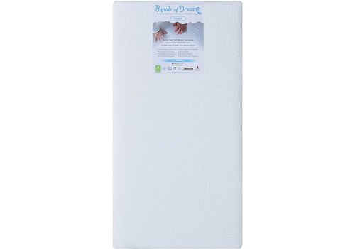 Bundle Of Dreams Bundle of Dreams Organic Flagship 2 Stage Crib and Toddler Bed Mattress, Breathable, Hypoallergenic, Dual Sided