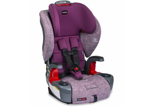 Britax Britax Grow With You ClickTight Booster Car Seat - Mulberry