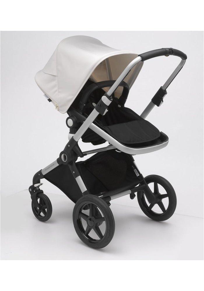 Bugaboo Lynx Complete Stroller - Aluminum/Black/Fresh White