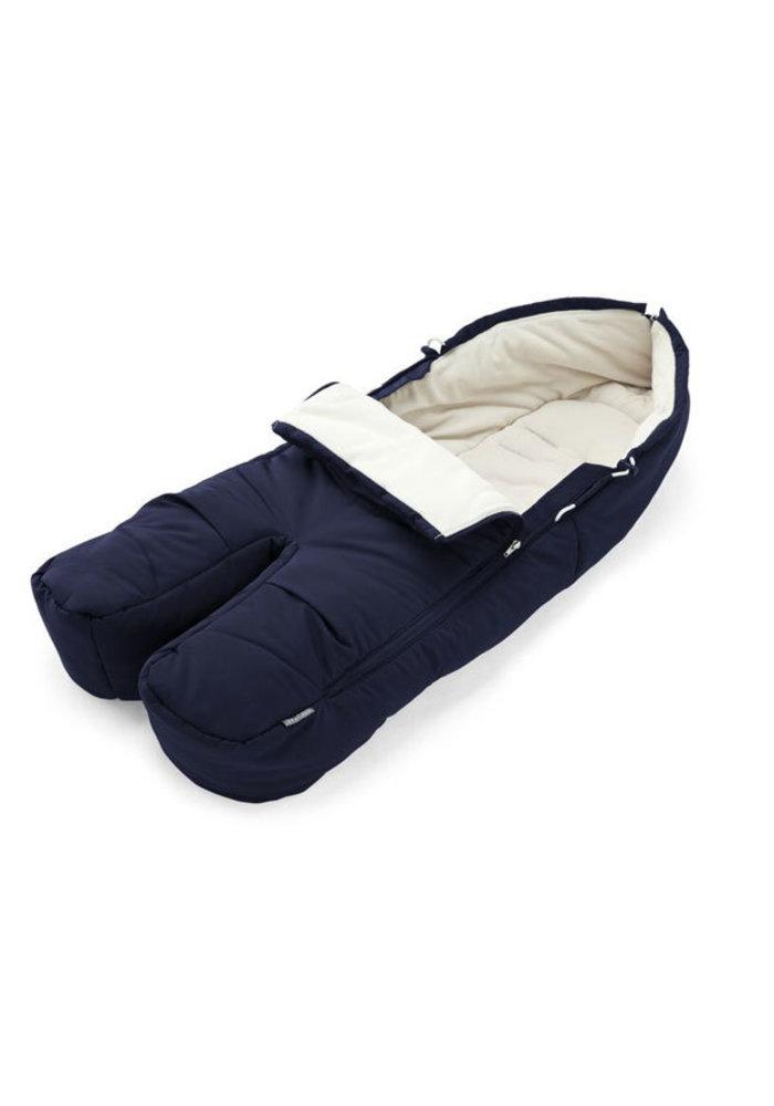 Stokke Xplory, Crusi Or Trailz Footmuff In Deep Blue For Seat