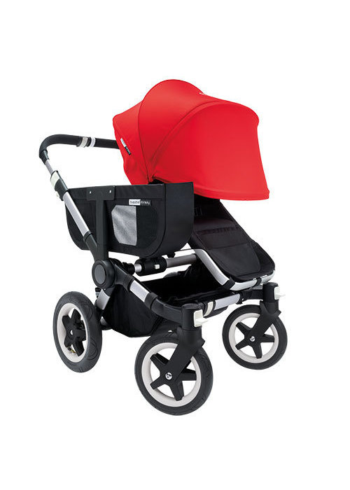 Bugaboo CLOSEOUT!!  Bugaboo Donkey Extended Sun Canopy In Red