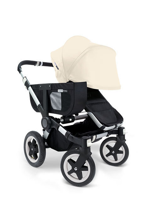 Bugaboo CLOSEOUT!! Bugaboo Donkey Extended Sun Canopy In Off White