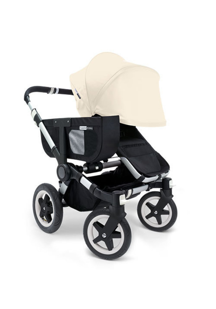 CLOSEOUT!! Bugaboo Donkey Extended Sun Canopy In Off White