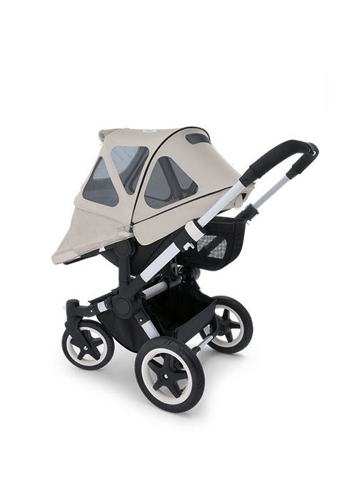 Bugaboo CLOSEOUT!! Bugaboo Donkey Breezy Sun Canopy In Arctic Grey