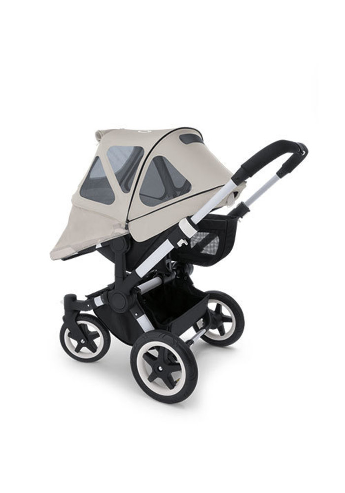 CLOSEOUT!! Bugaboo Donkey Breezy Sun Canopy In Arctic Grey