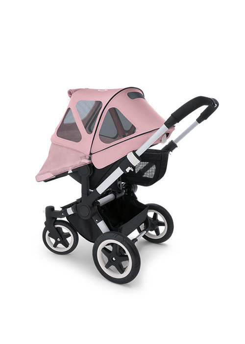 Bugaboo CLOSEOUT!! Bugaboo Donkey Breezy Sun Canopy In Soft Pink