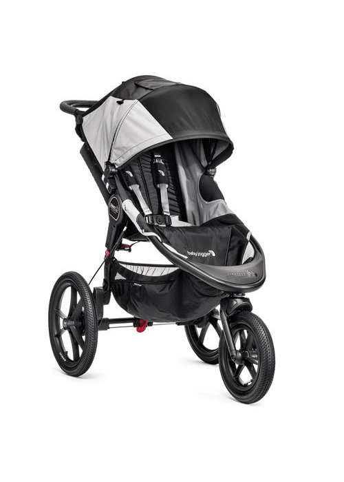 Baby Jogger Baby Jogger Summit X3 Single Stroller In Black- Gray