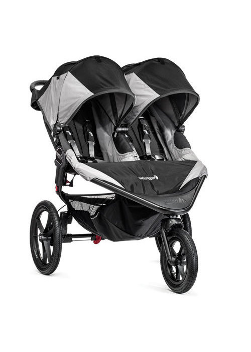 Baby Jogger Baby Jogger Swivel Summit X3 Double Black-Gray