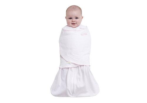 Halo Halo Sleepsack Swaddle 100% Cotton Pink Pin Dot In Newborn