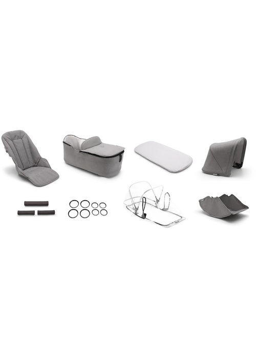 Bugaboo 2020 Bugaboo Fox Mineral Style Set In Light Grey