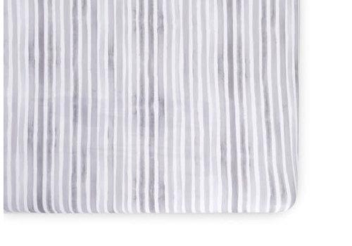 Oilo Oilo Crib Sheet In Ink (Jersey Fabric)