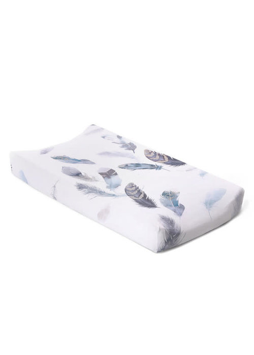 Oilo Oilo Changing Pad Sheet In Featherly (Jersey Fabric)