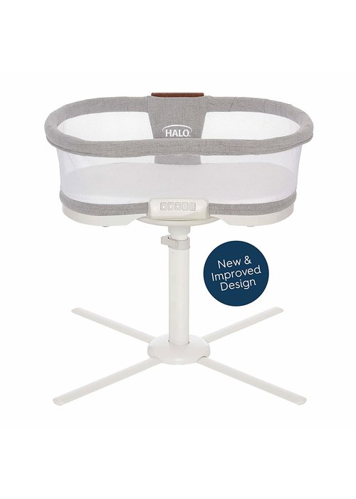 Halo HALO Bassinet - Luxe Dove Gray Tweed
