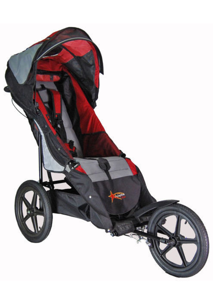 Adaptive Star Axiom Improv Size 3 Special Needs Jogger In Red