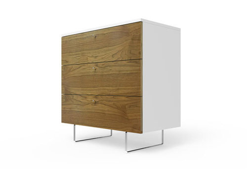 Spot On Square Spot On Square Alto Dresser 34'' - White-Walnut