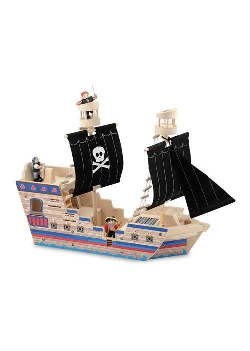 Melissa And Doug Melissa And Doug Deluxe Pirate Ship Play Set