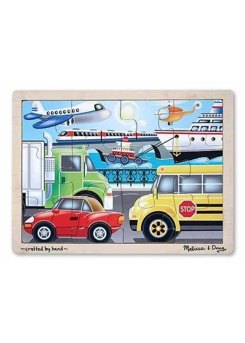 Melissa And Doug Melissa And Doug Vehicles Jigsaw Puzzle 12pc