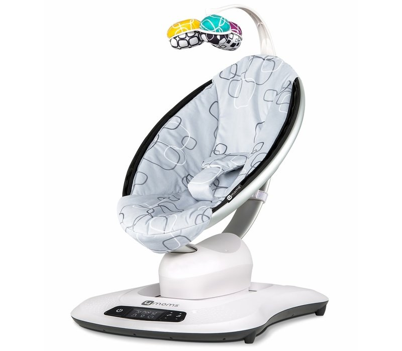 4 Moms Mamaroo Swings  Silver Plush
