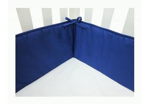 American Baby American Baby Standard Crib Size Bumper In Royal Blue