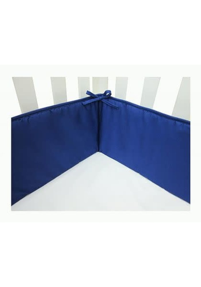 American Baby Standard Crib Size Bumper In Royal Blue