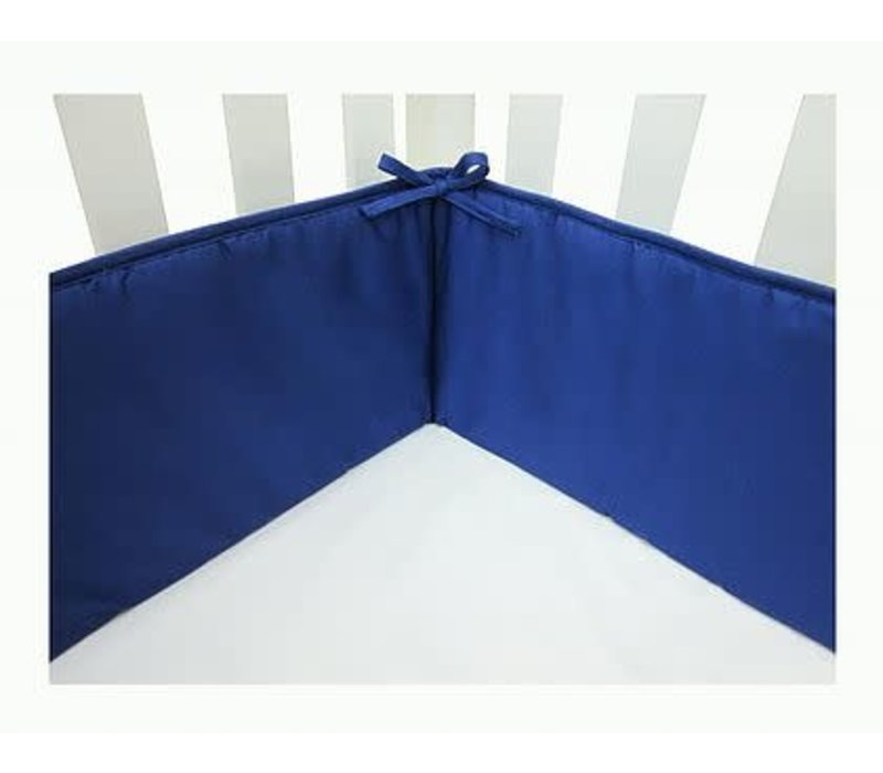 American Baby Standard Crib Size Bumper In Royal Blue