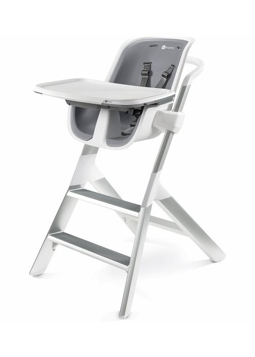 4moms 4 moms High Chair In White - Grey