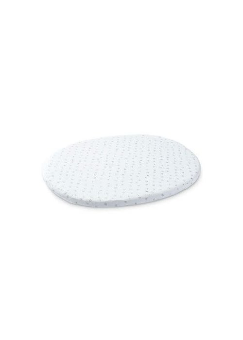 Stokke Stokke Sleepi Mini (Bassinet) Fitted Sheet In Grey Dotty