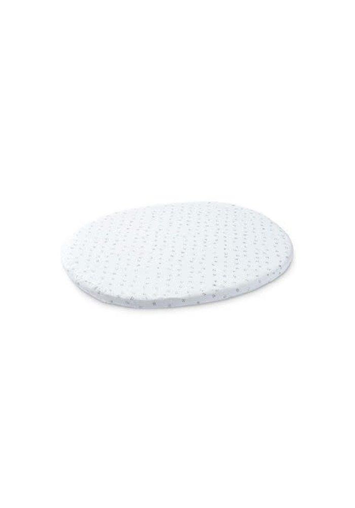 Stokke Sleepi Mini (Bassinet) Fitted Sheet In Grey Dotty