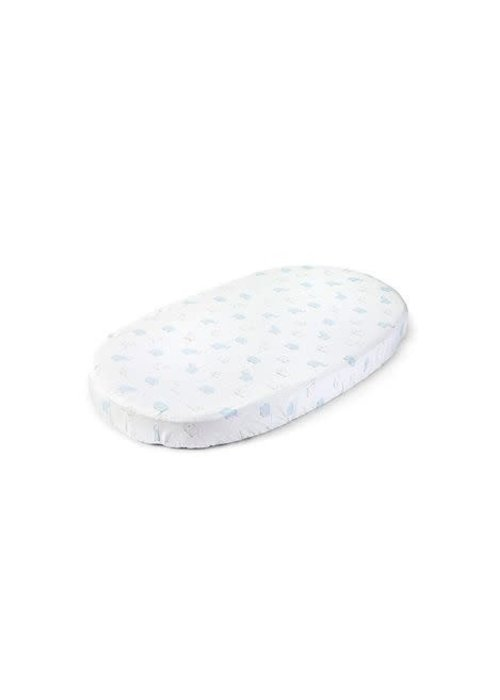 Stokke Stokke Sleepi Crib Fitted Sheet In Rainbow Alphabet