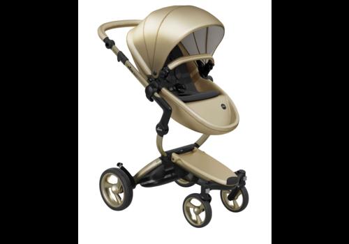 Mima Kids Mima Kids Xari stroller Gold Chassis Gold Seat Black Starter Pack